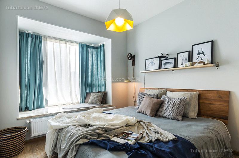 北欧温馨卧室装修