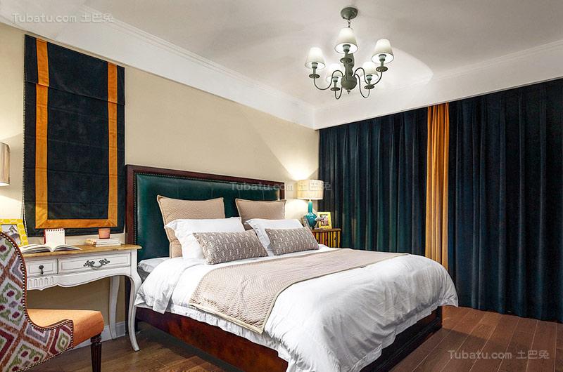 美式新古典卧室