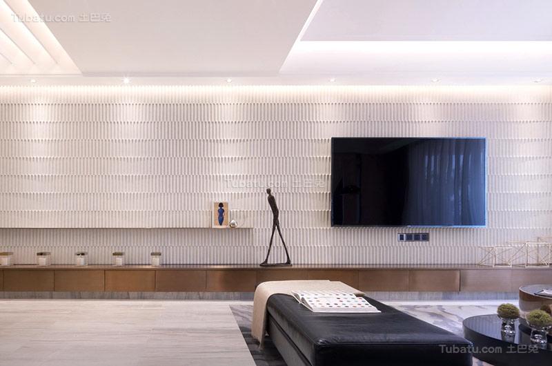新古典浪漫电视背景墙设计图片