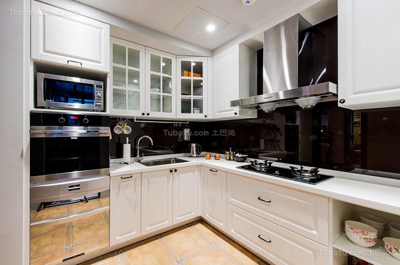 乡村美式厨房室设计图片