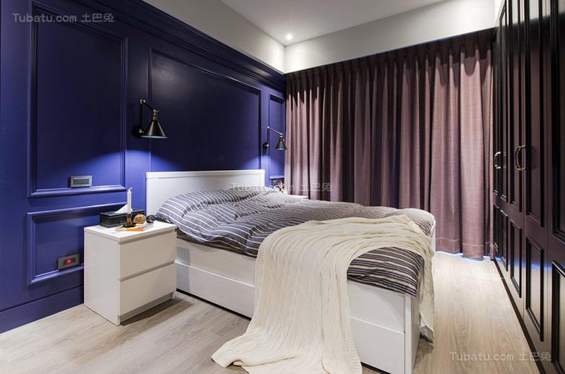 乡村美式卧室设计图片