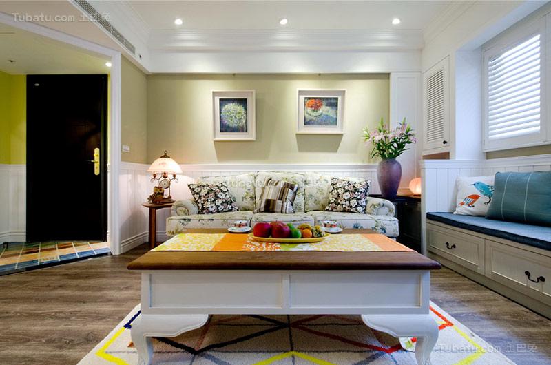 美式温馨二居室设计图片