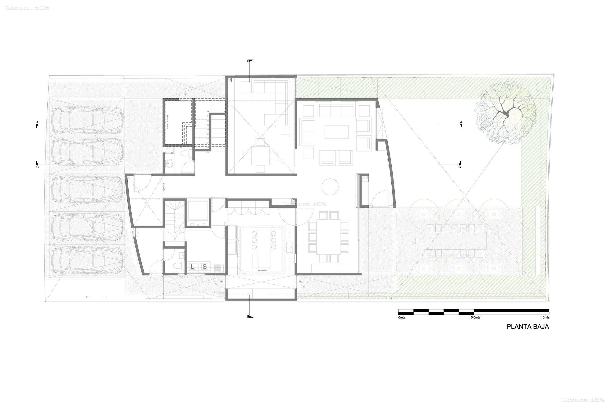 简单农村二层别墅平面图
