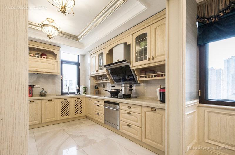 欧式奢华厨房设计图片