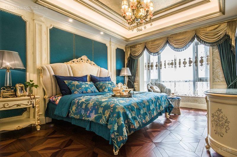 欧式奢华卧室设计图片