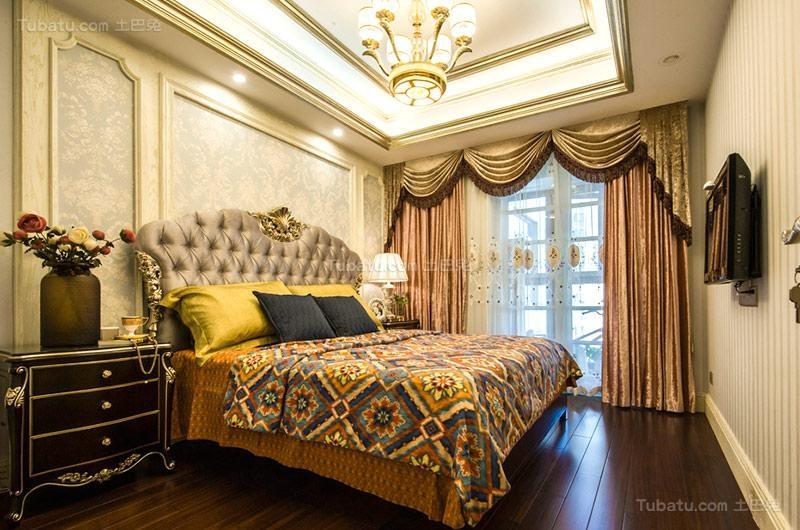 欧式奢华次卧设计图片