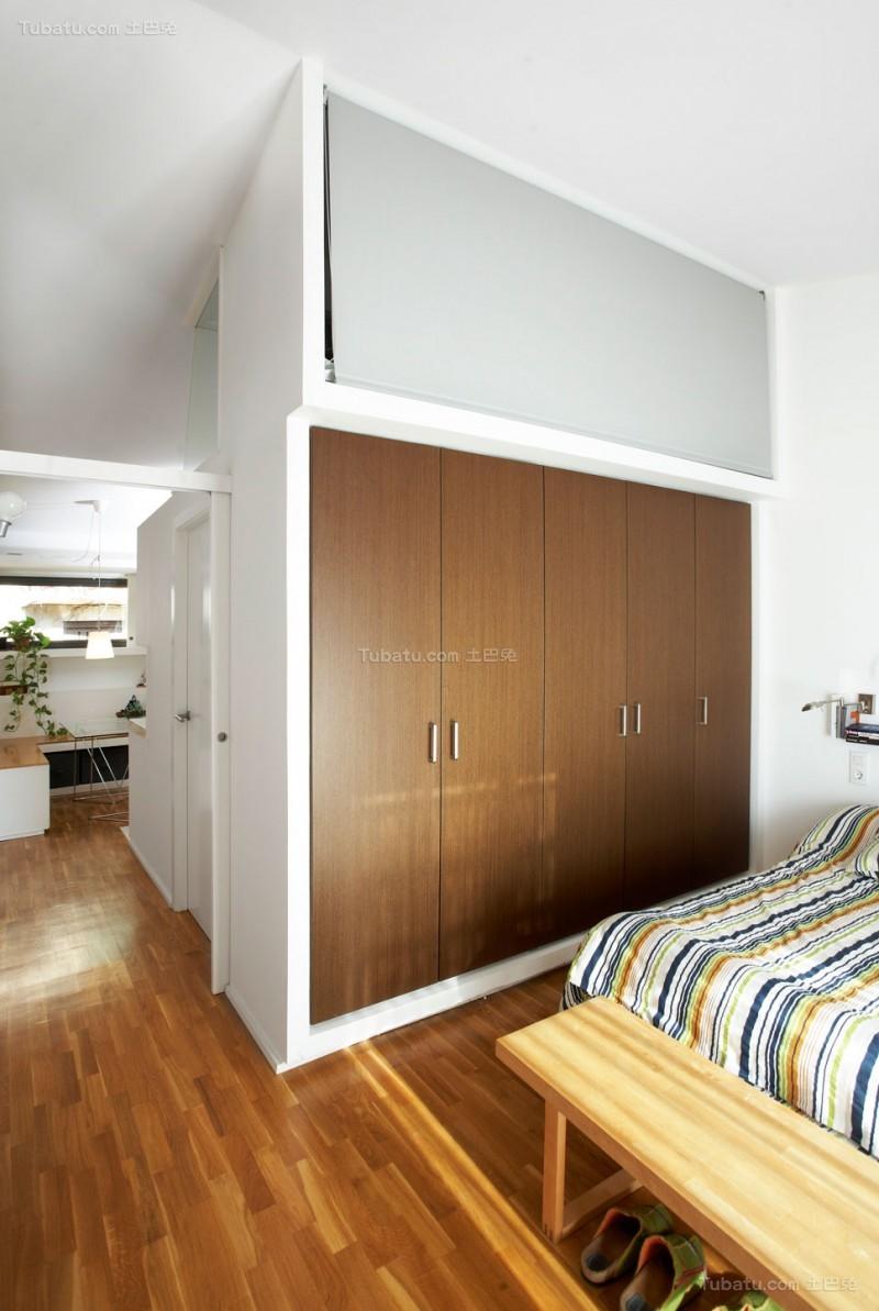 创意北欧风格衣柜设计图片