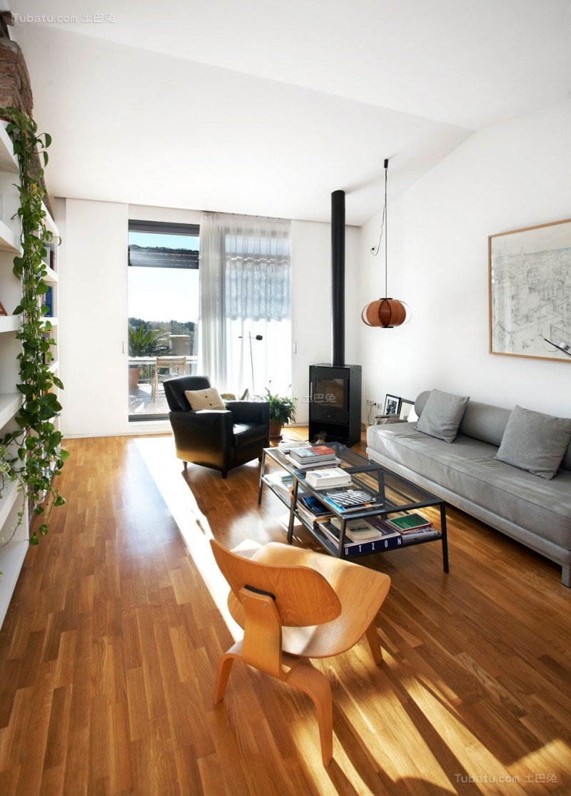 创意北欧风格客厅设计图片