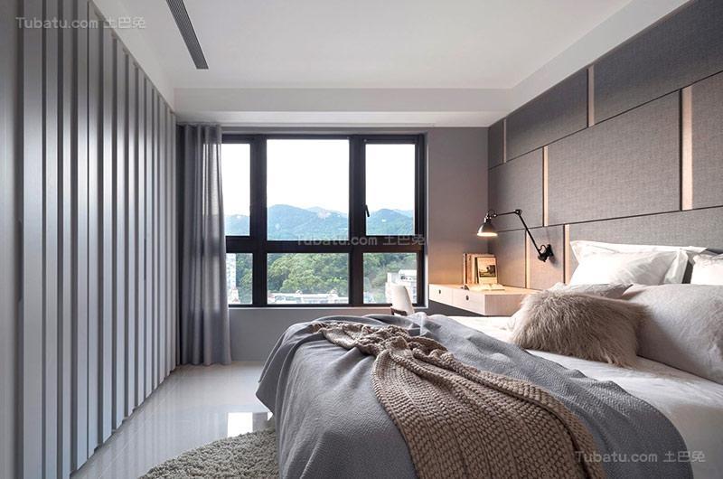 清新北欧风格卧室设计图片