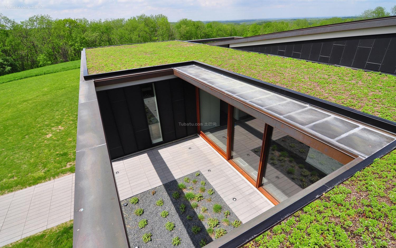 简约创意屋顶花园设计效果图