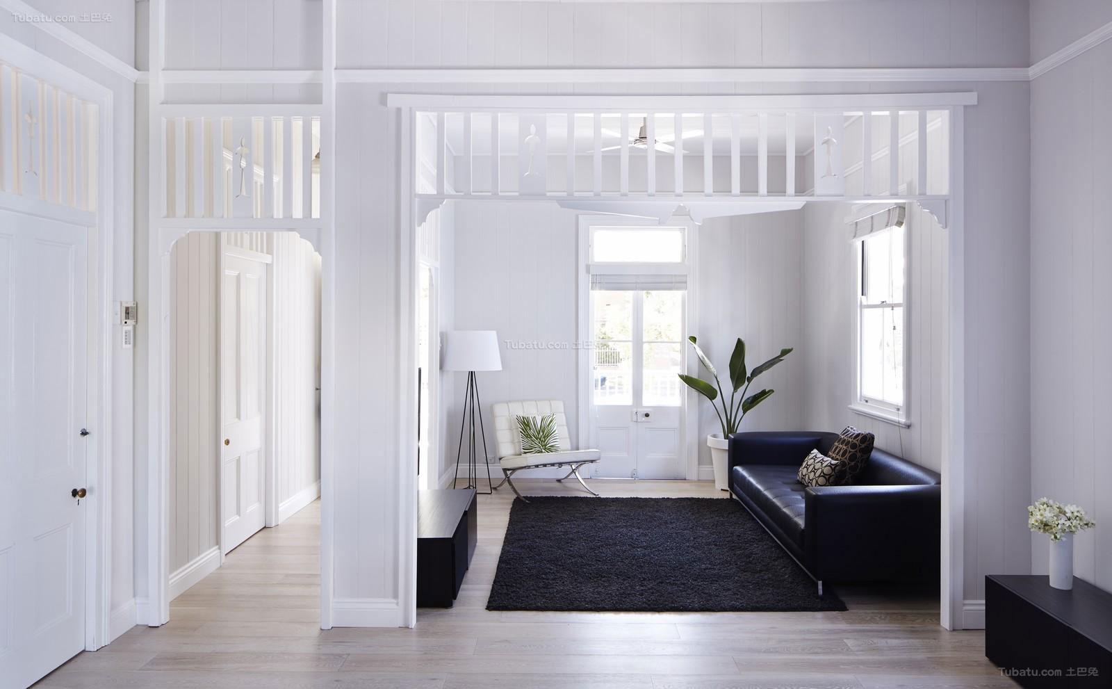 北欧舒适客厅效果图