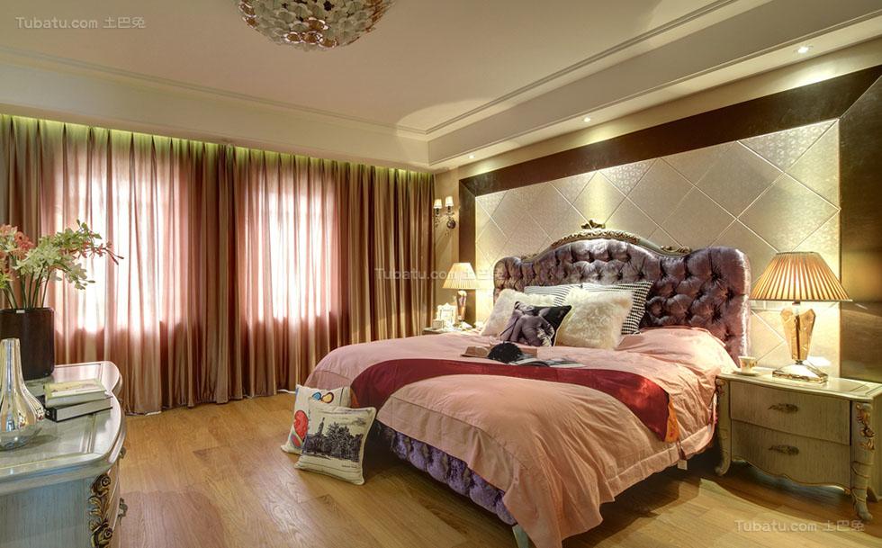 混搭美观四居室设计效果图