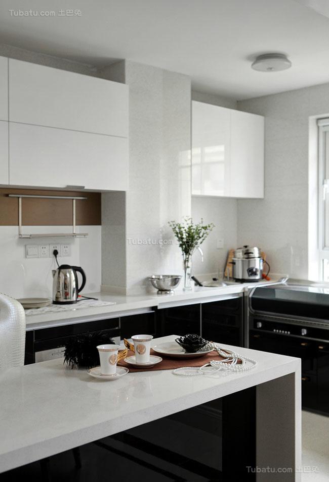 混搭美观厨房设计效果图