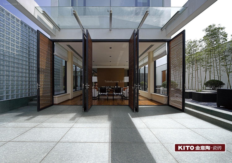 石英岩-阳台-现代简约风格、田园风格