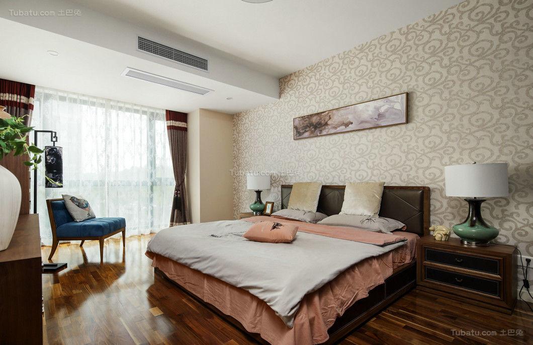现代中式温馨住宅装修
