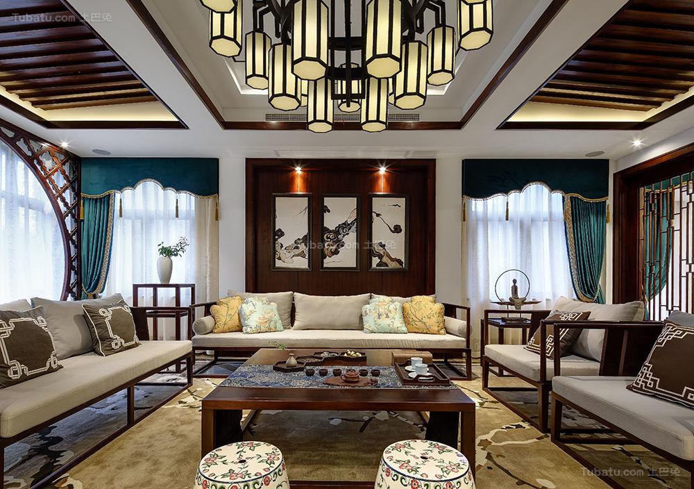 新中式别墅装修图