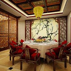 中式餐厅装饰设计