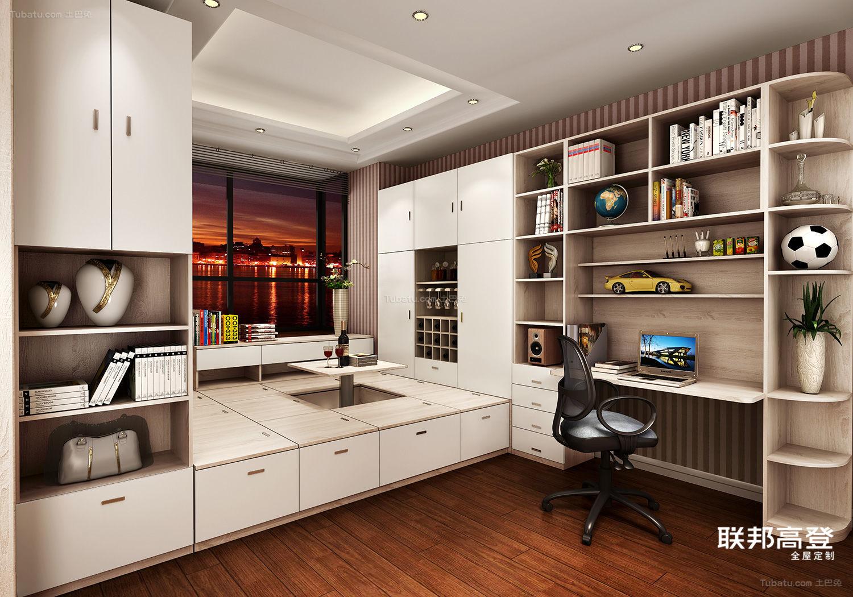 现代简约沙榆配白卧室空间