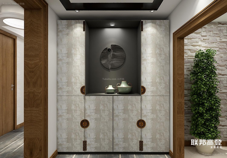 新中式玄关收纳柜