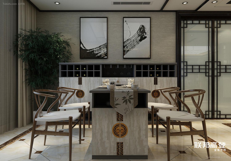 新中式意境客餐厅空间
