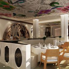 现代风格小饭店装修效果图