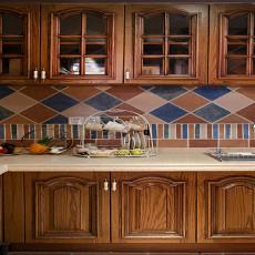 美式风格设计厨房图片