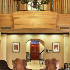 精美面积129平复式客厅实景图片欣赏