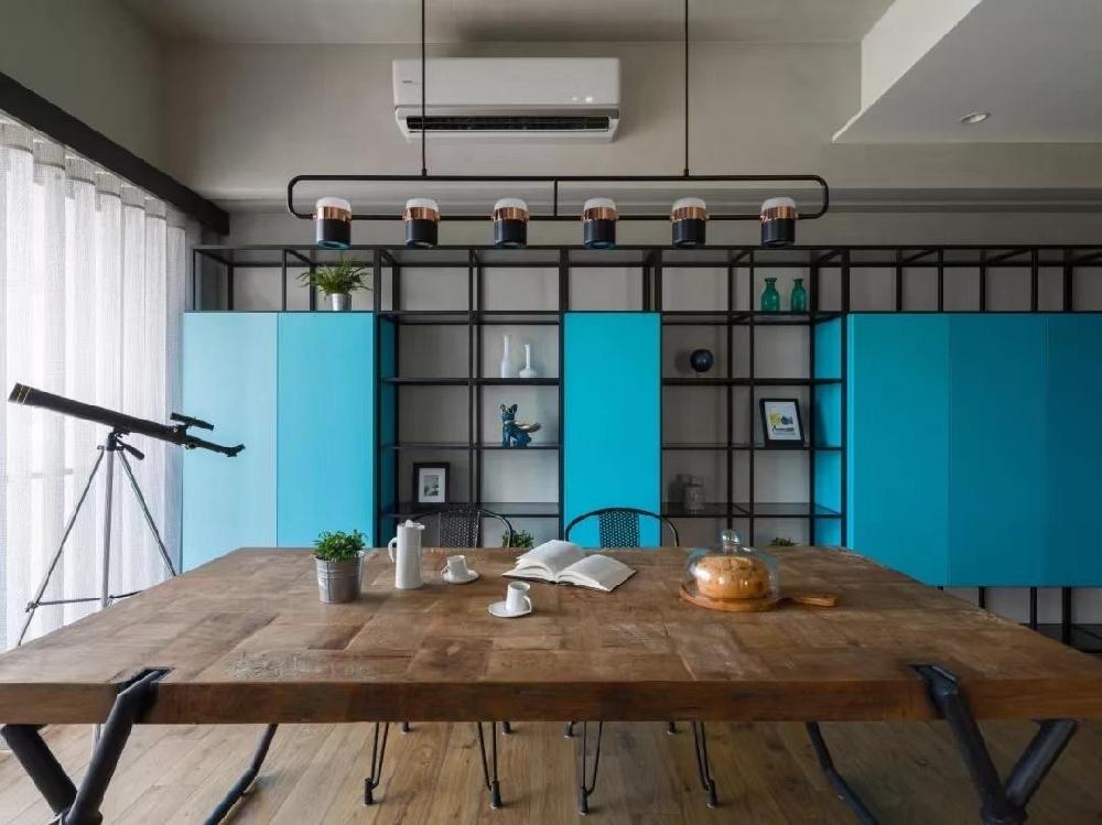 现代简约工业混搭风格时尚个性住宅10291989