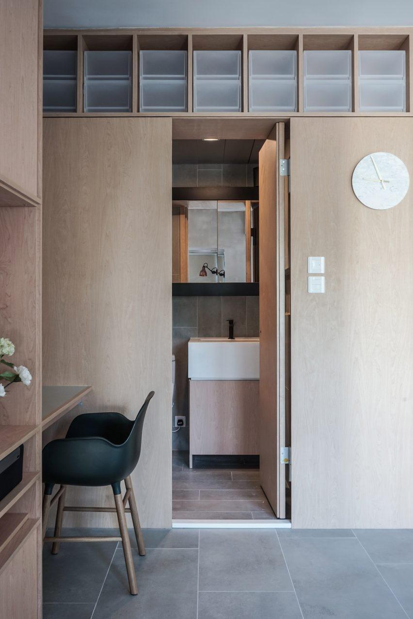 33平米简约风格一居室小户型收纳10339379