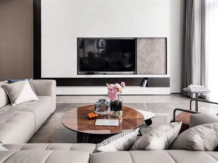 二层私人住宅 现代装修风格渲染生活10386610