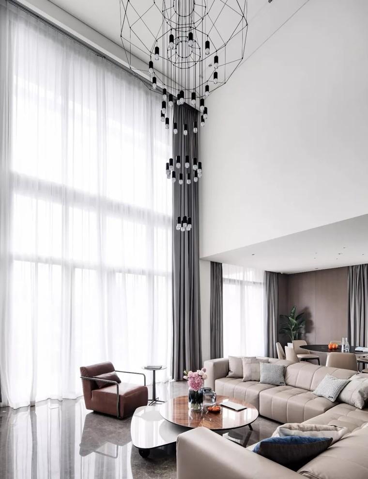二层私人住宅 现代装修风格渲染生活10386609