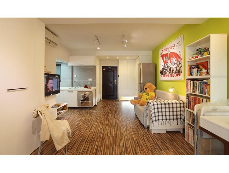 45㎡美式風格一居室-給你輕松生活10382559
