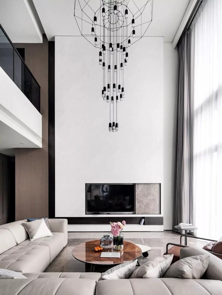 二层私人住宅 现代装修风格渲染生活10386608