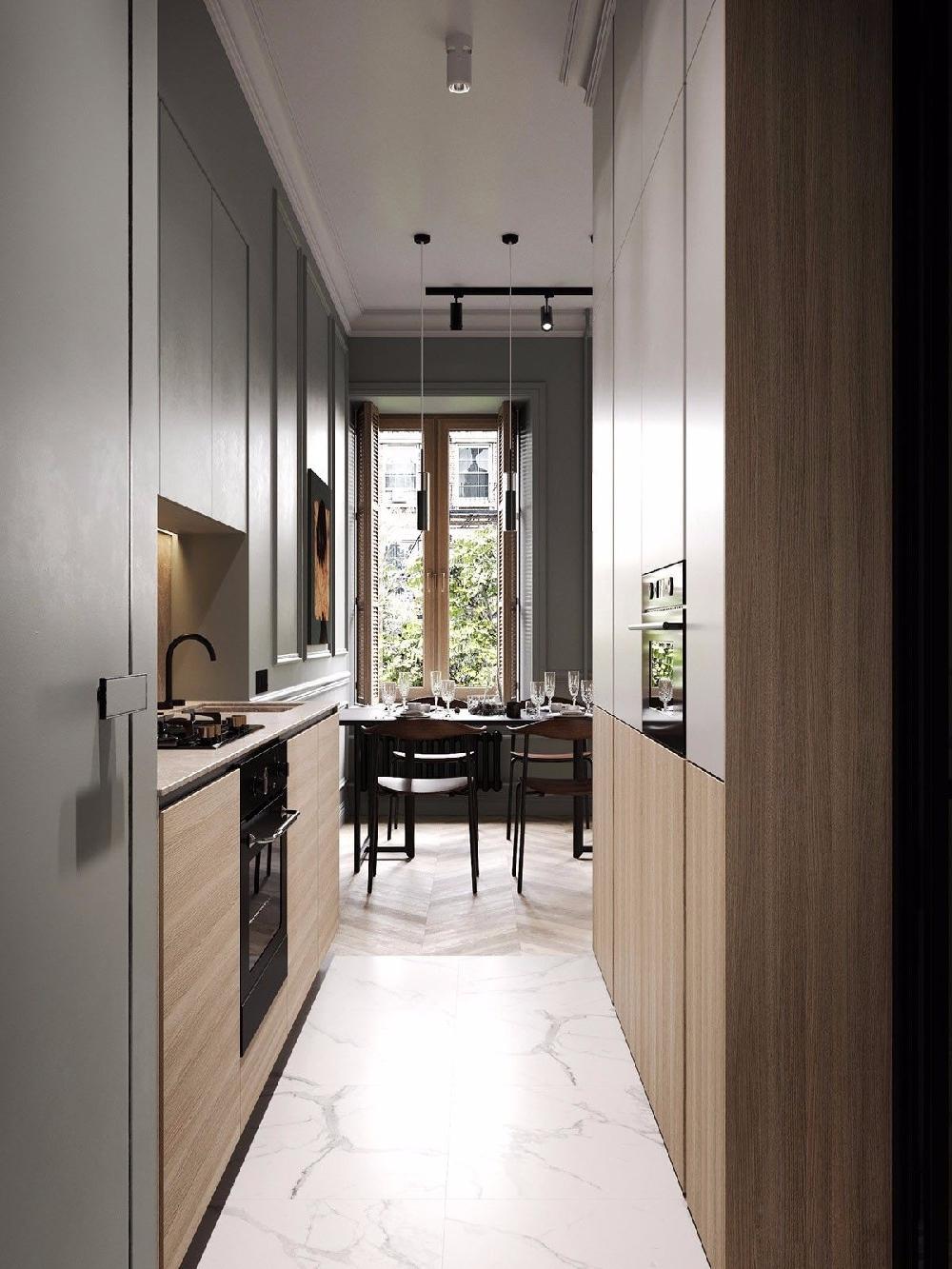 75㎡的混搭风格二居室,自然舒适的家10388129