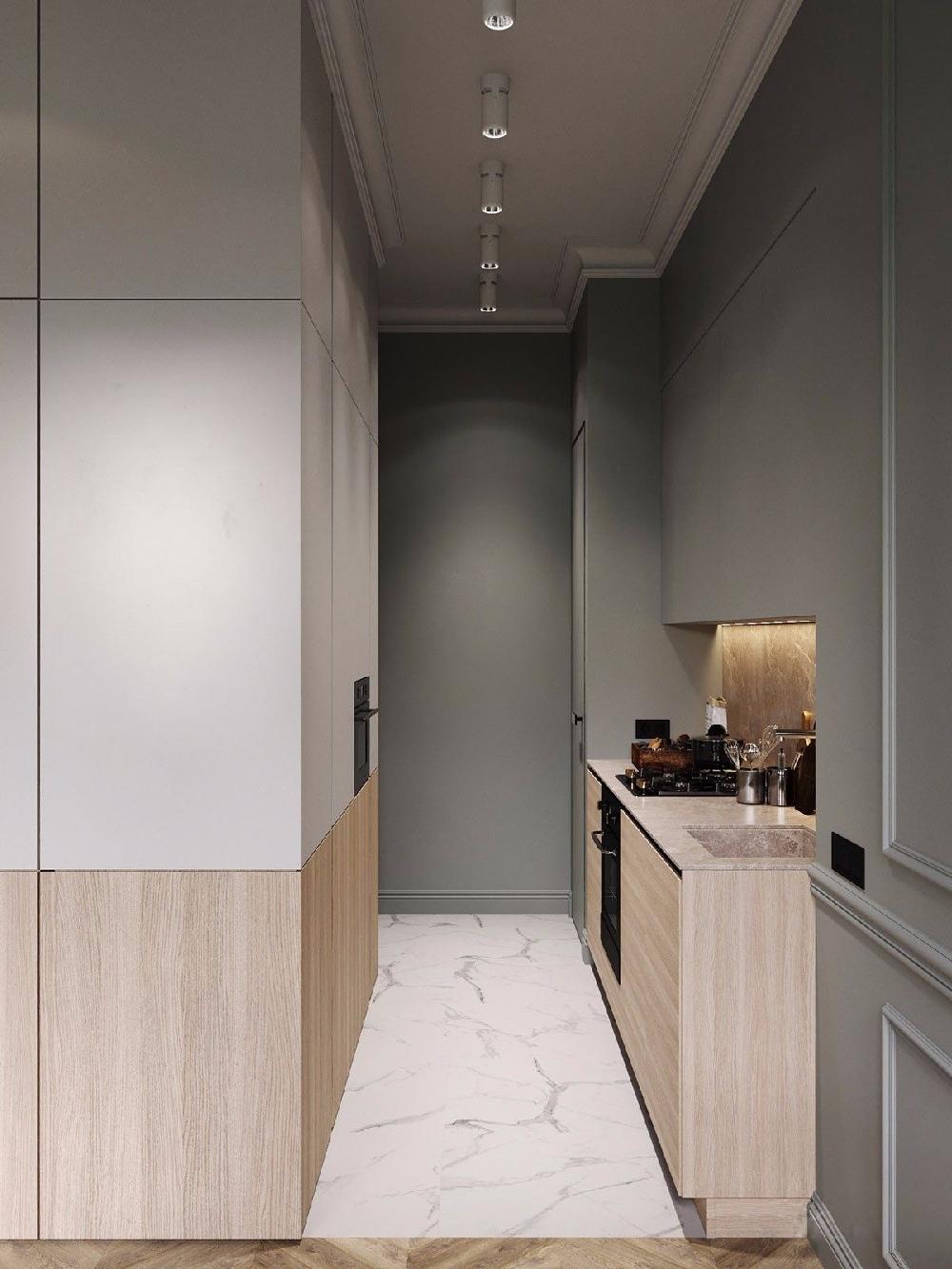 75㎡的混搭风格二居室,自然舒适的家10388136