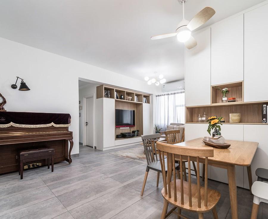 114m²三房北欧风格,温暖的三口之家10394382