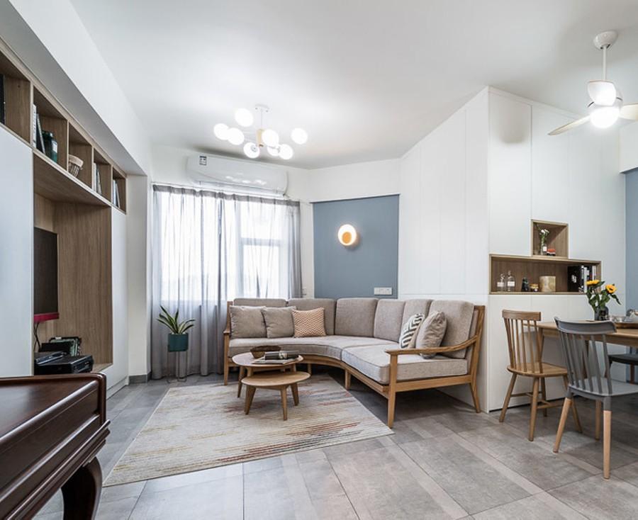 114m²三房北欧风格,温暖的三口之家10394381