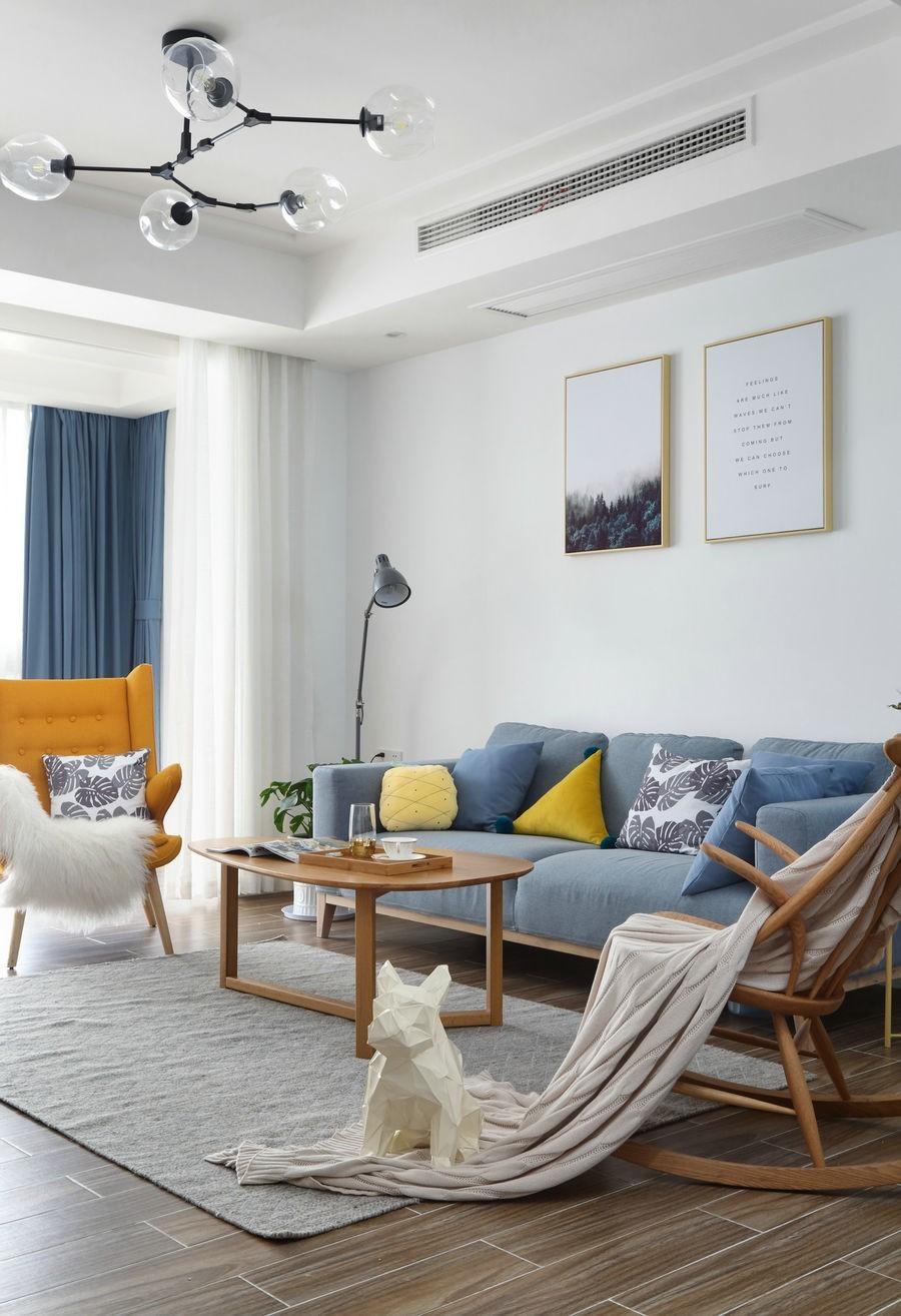 保利新苑 98㎡ 北欧风室内设计10412531