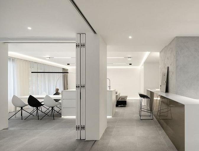 150平三居室现代简约  都市生活10452825