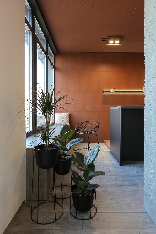 舒适的开放式公寓设计10489532