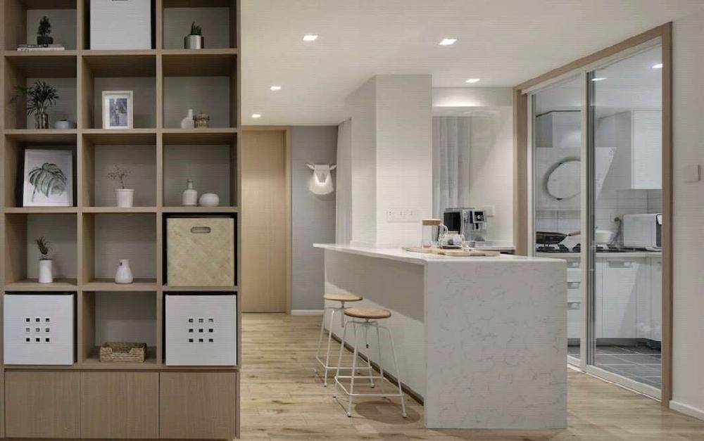 102平米的日式风格三室两厅10504722