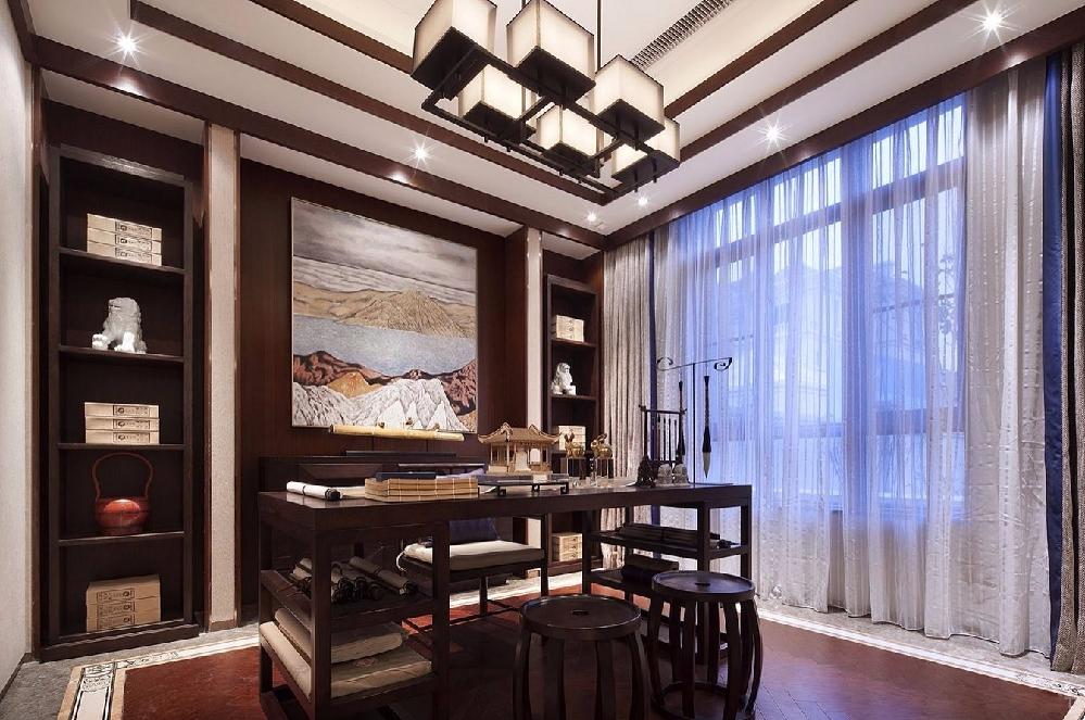 新中式,谁家的房子这么好看!10550866
