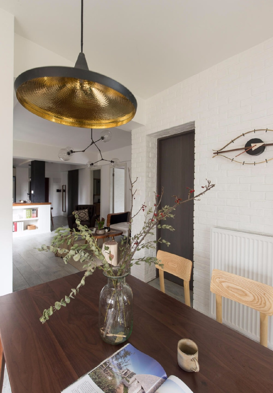 現代開放式廚房的空間鏈接關系10558740