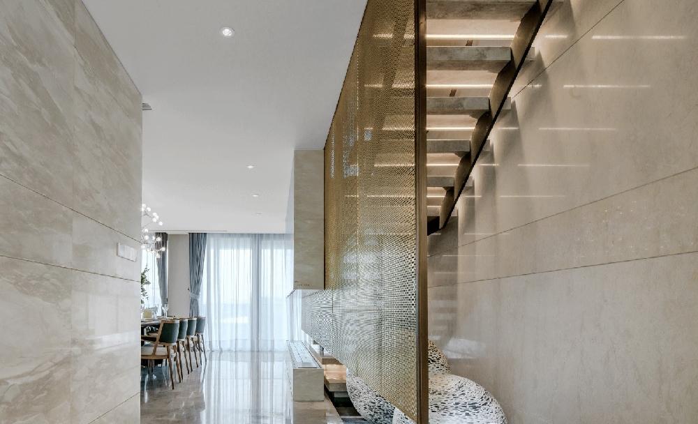 150m2中式复式,客厅简直惊艳一个家10610378