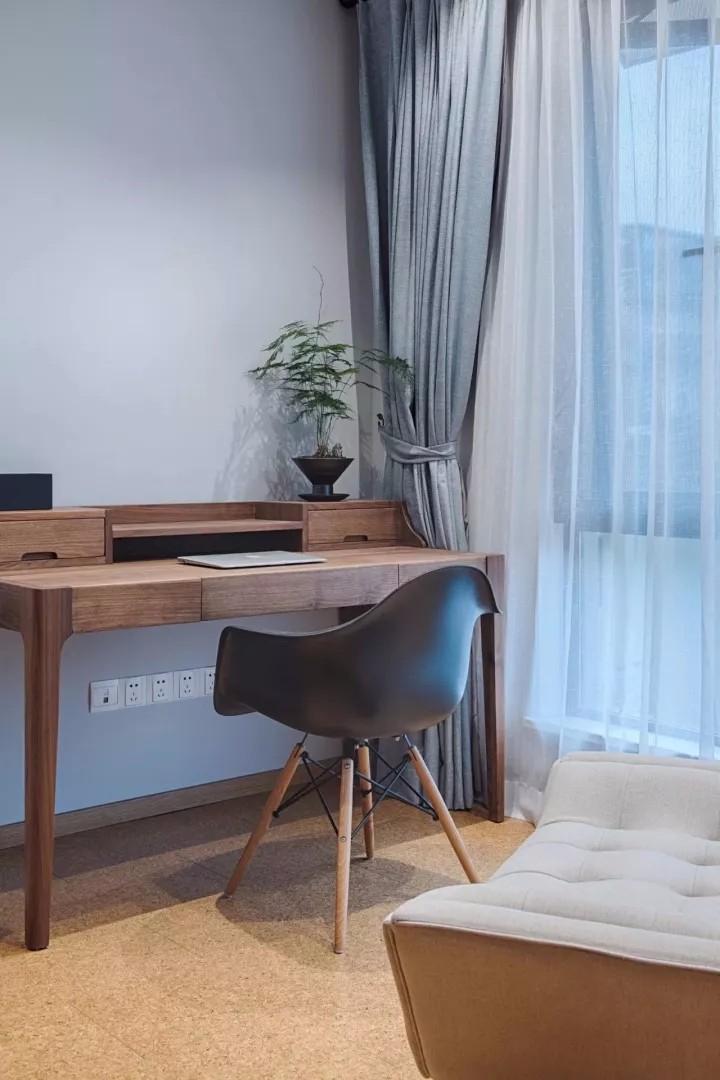 北欧复式,电视墙这堆木桩,淳朴自然好大方10616671