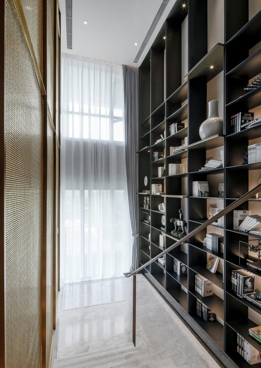 150m2中式复式,客厅简直惊艳一个家10610390