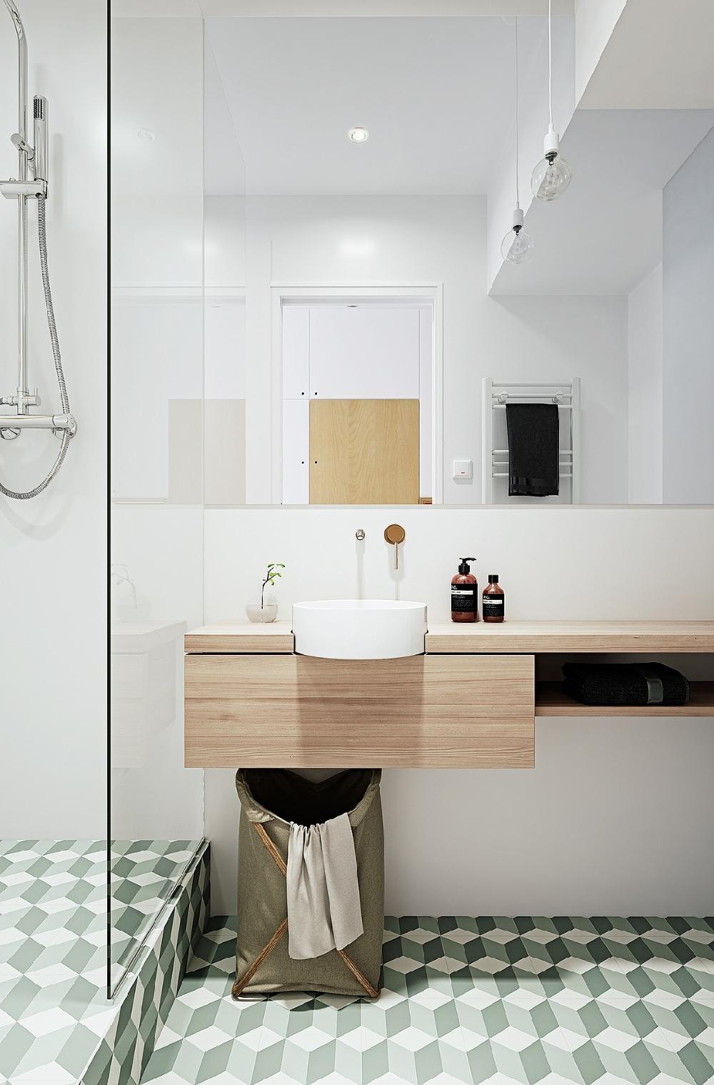 52平一居室,小戶型的溫暖空間10645231