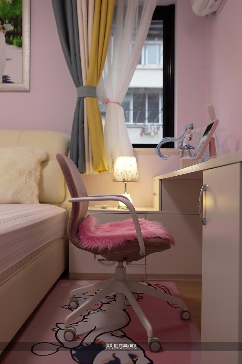 粉色女孩房,打造甜美公主房10670211