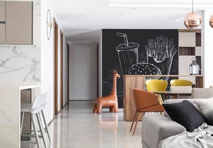 大客廳現代簡約風格裝修設計10685262