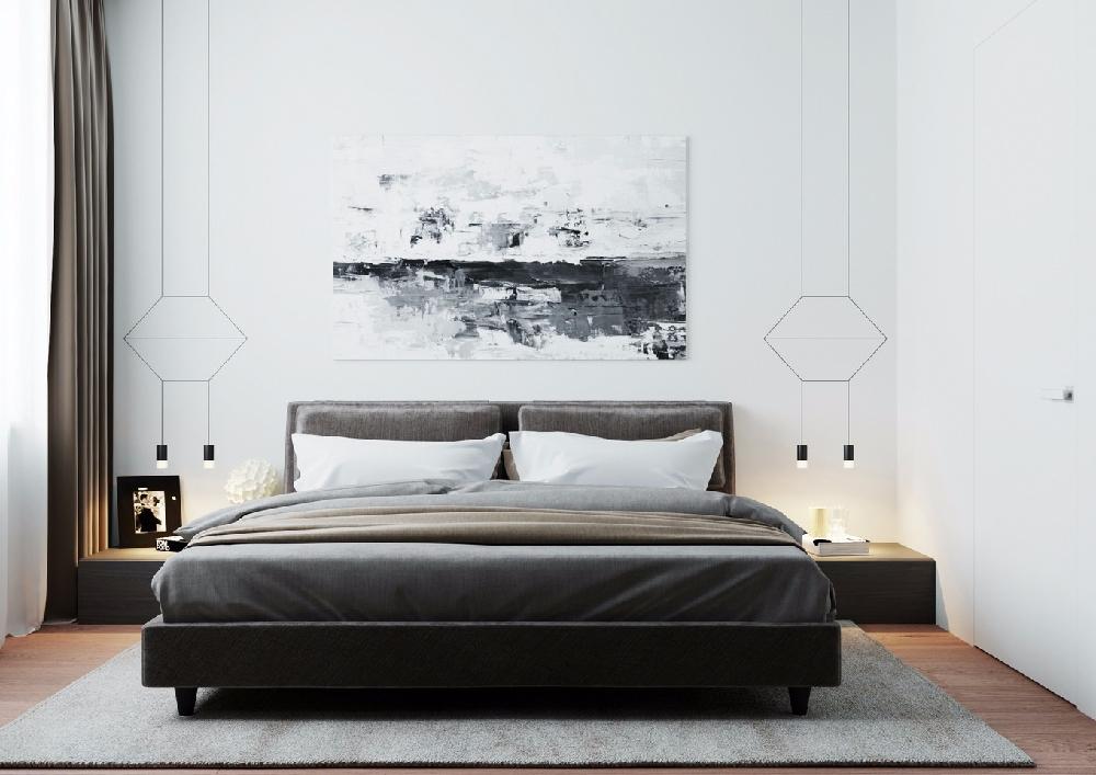 现代时尚简约住宅室内设计 | 简约不简单10686766